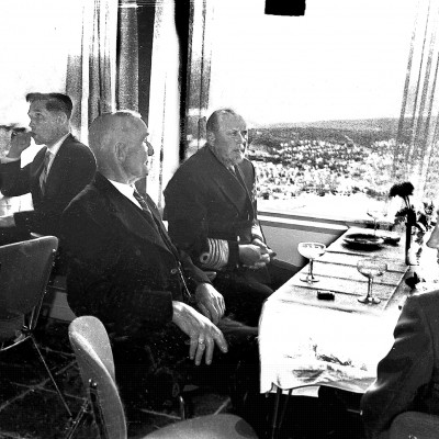 1961: Official opening